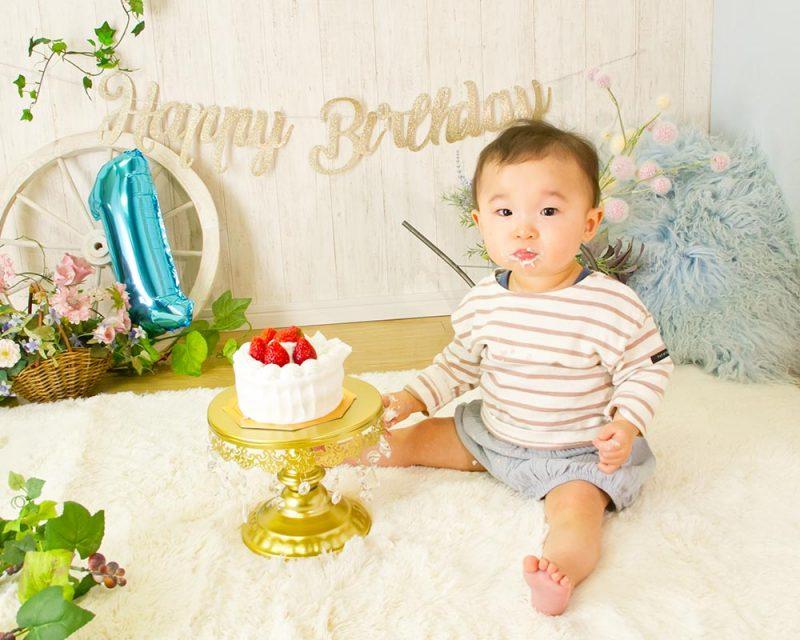 スマッシュケーキ(1歳バースデイ)